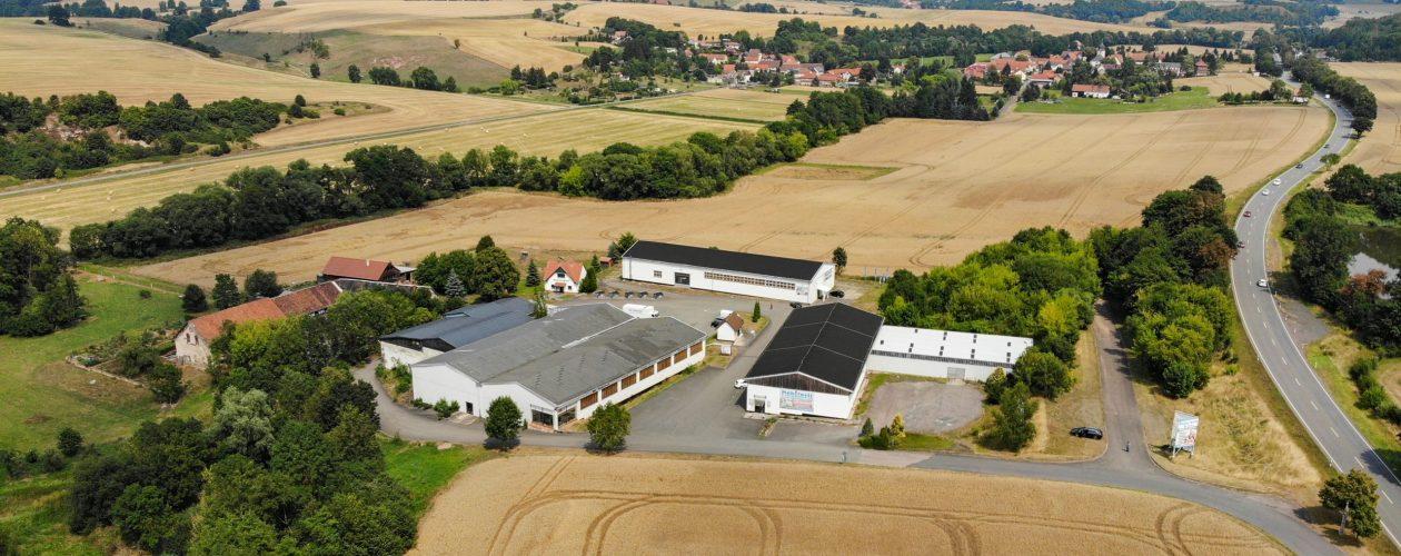 Luftfoto Möbelwelt Grünau